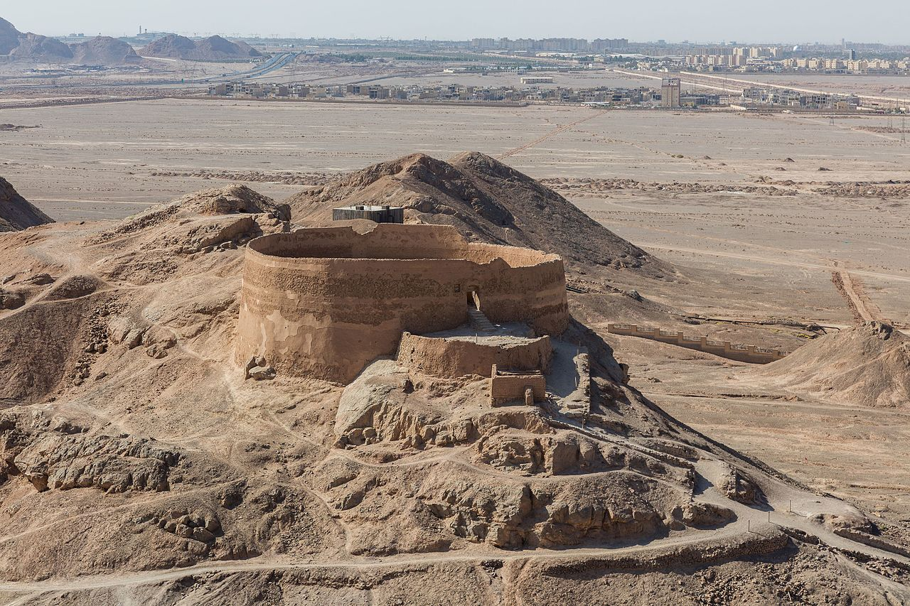 Tower of Silence near Yazd, Iran
