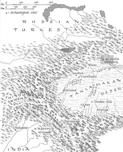Kucha and Kizil area