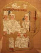 10th century Manichaean Electae in Gaochang (Khocho), China.