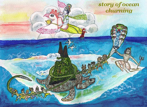 #5: Samudra manthan: The churning of the ocean of milk