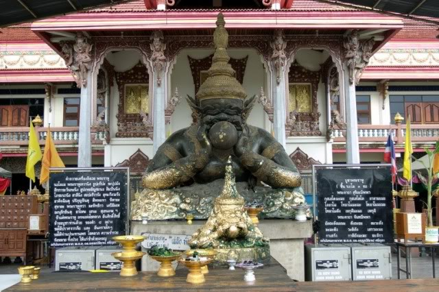 Rahu at a temple in Thailand