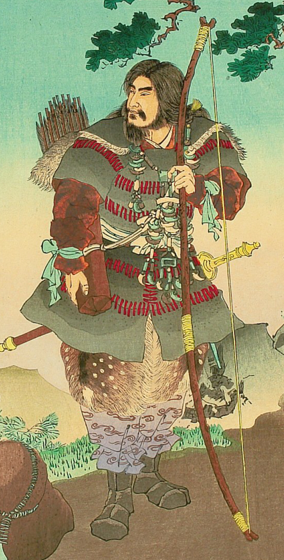 Jimmu, The first legendary Emperor of Japan