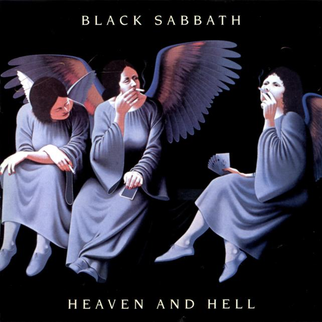 The front cover for the CD Heaven and Hell by the artist Black Sabbath.