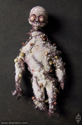 Zombie Art Doll Sculpture