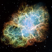 The leftover of a supernova