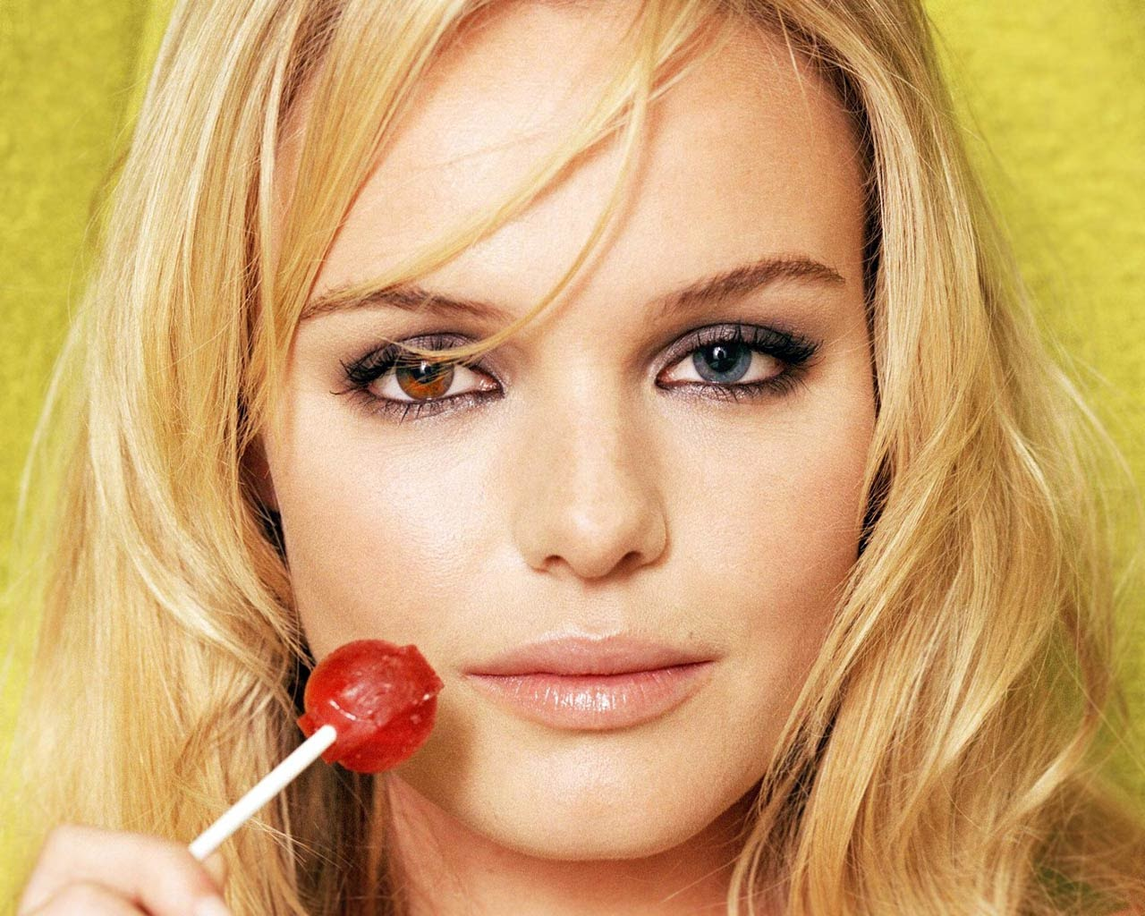 Kate Bosworth, the model, has one of the most recognizable sets of Heterochromia eyes
