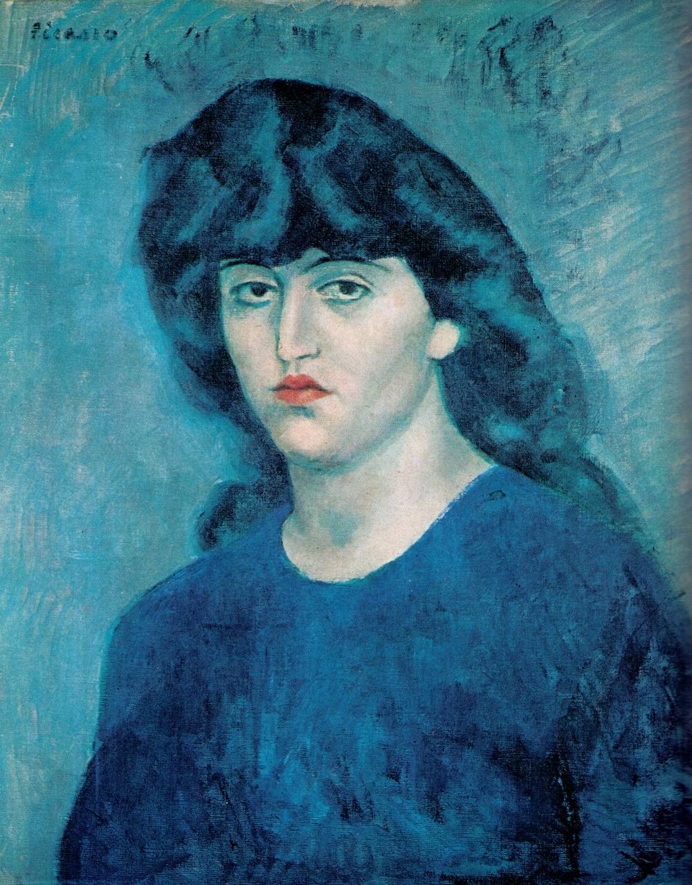 Pablo picasso blue period 1901 1904 for Picasso painting names