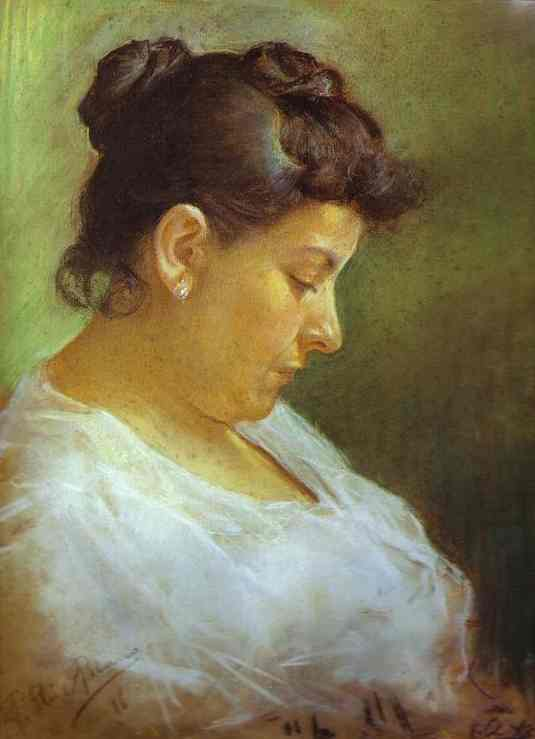 Portrait of the Artist's Mother (1896)