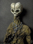 Alien Mummy Doll