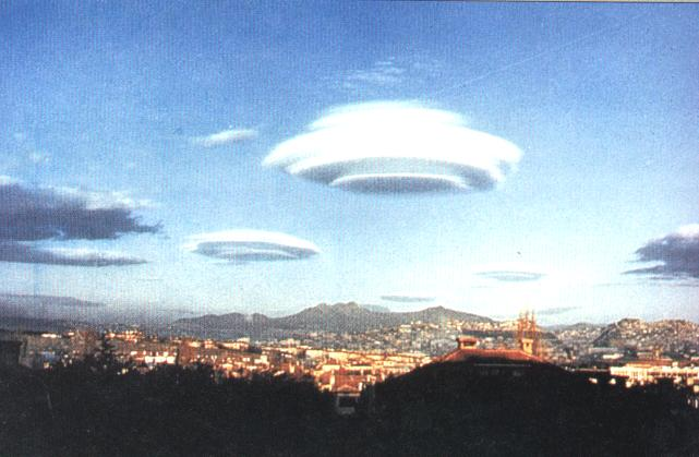 Cloud/UFO Alien Sighting In Moscow