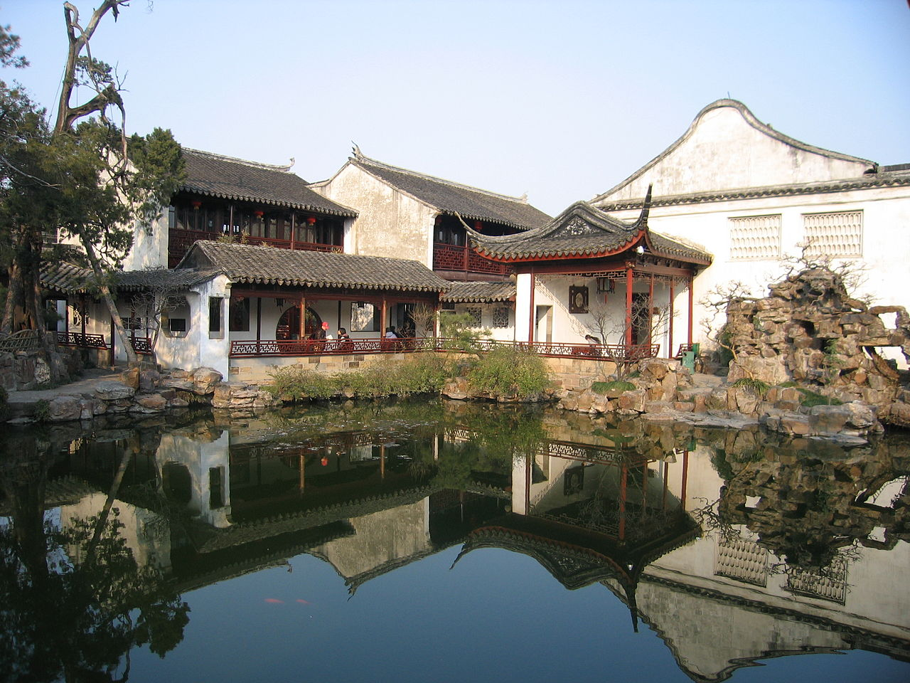 Reflection of The Master of Nets Garden — in Suzhou, China