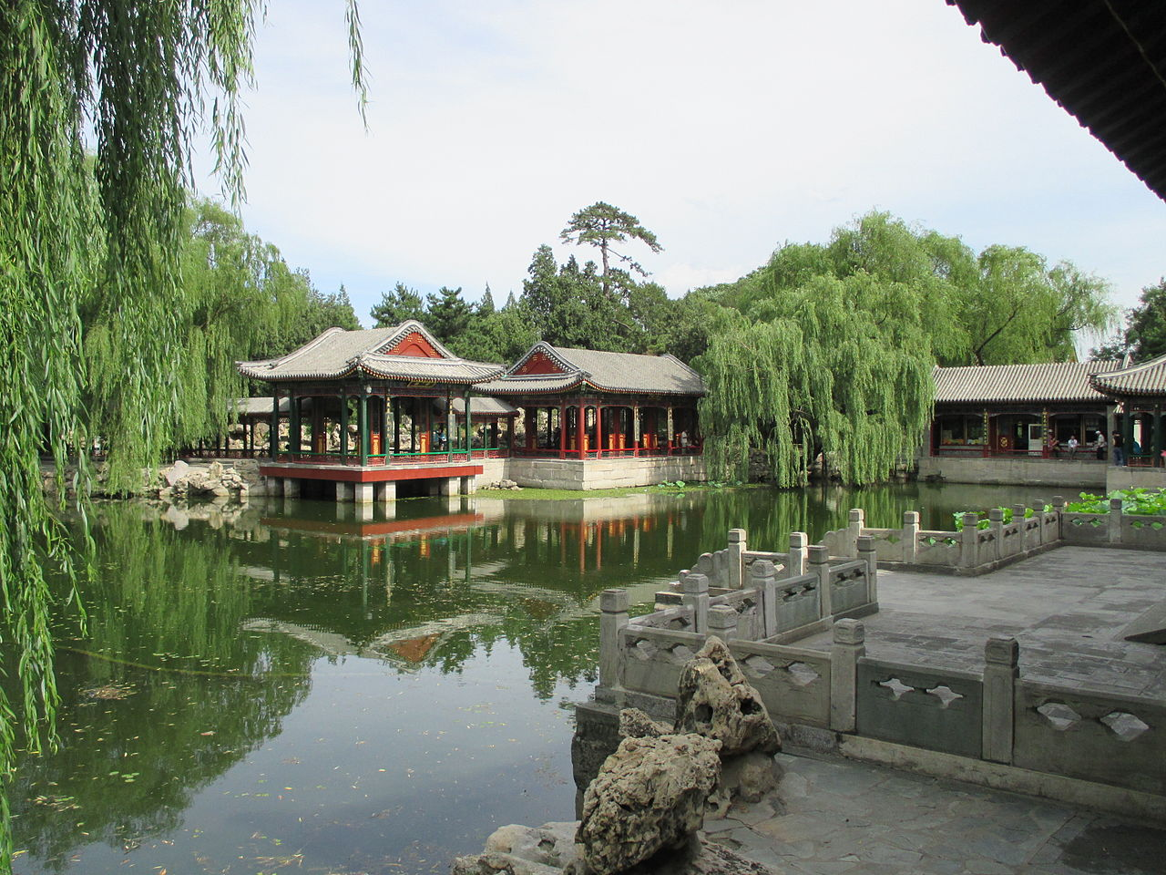 The Garden of Harmonious Pleasures in the Summer Palace, Beijing, China