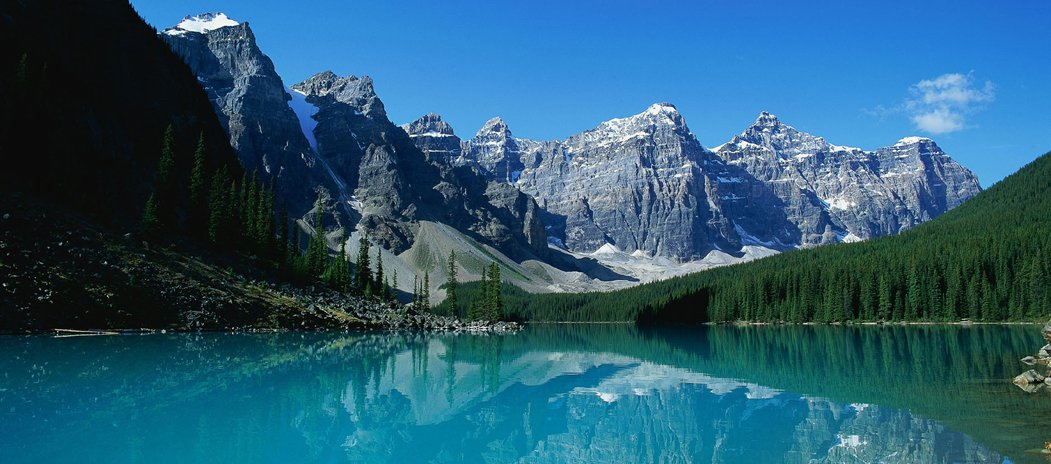 Real Photo of Moraine Lake