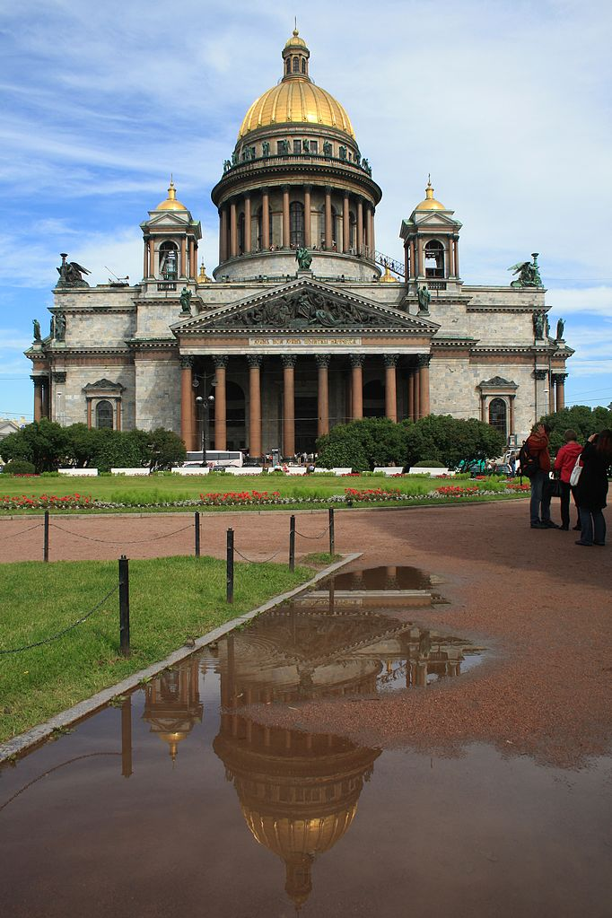 St. Isaac's Cathedral (the official name - the Cathedral of St. Isaac of Dalmatia)