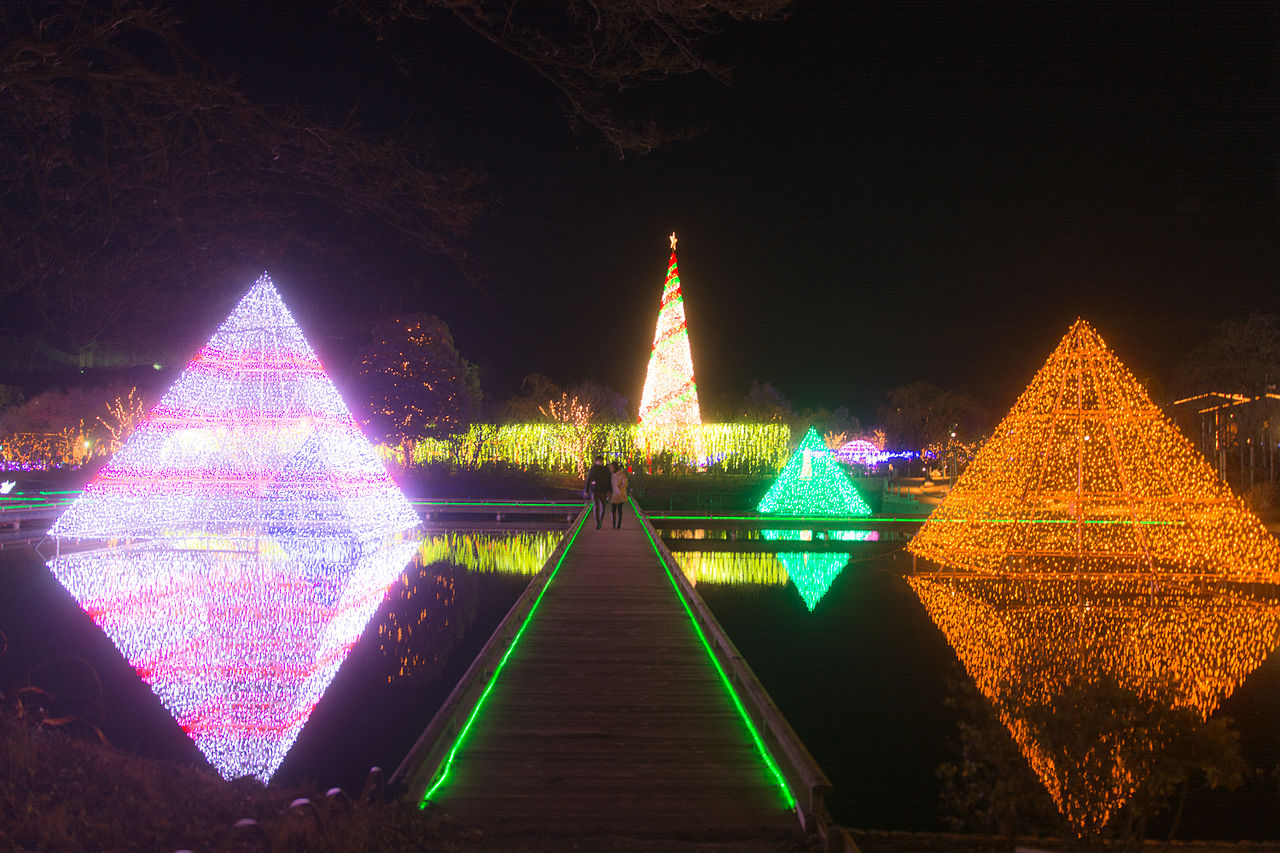 Light Decoration in Ashikaga Flower Park
